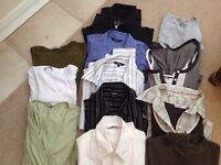 Job lot. 12 items ladies shirts and tops