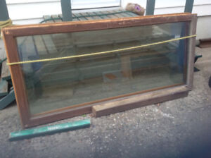 FREE FOR PICKUP ONLY...TWO SLIDING DOOR GLASS PANELS.