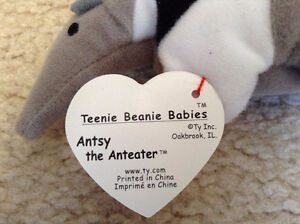 Brand new with tags TY Beanie Babies Anteater plush toy London Ontario image 3