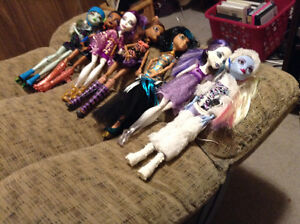MONSTER HIGH DOLLS. $7.00 EACH or BUNDLE TO SAVE