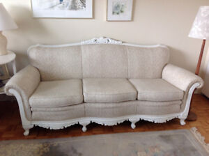 Victorian Style Couch & Chair