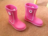Crocband Wellies Child Size 12/13