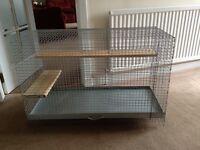 Wire Chinchilla cage