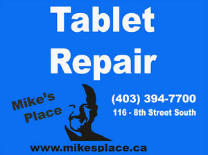 APPLE SAMSUNG ACER TABLET SCREEN REPAIR @ MIKE'S PLACE