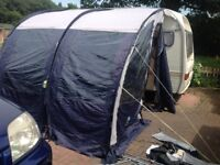 Porch Awning for caravan SunCamp ultimate Platinum 260 good condition