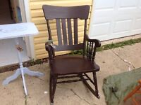 LOOKING FOR A COMFORTABLE ROCKING CHAIR....HERE ARE 4