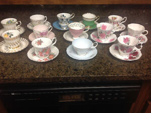 China cups & saucers