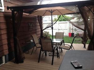 Quaint patio furniture