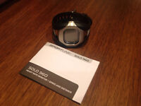 Sportline solo960 watch, heart monitor, speed and distance