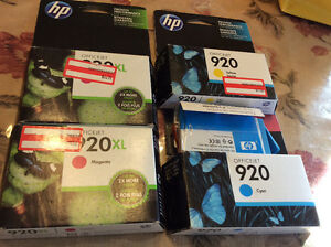 HP Office Jet Ink 920  Magenta, Yellow Blue