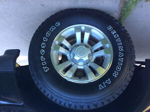 Tires and rims 4x4 2010 ford ranger