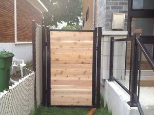 Clôtures et clôture