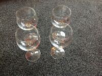 wine glasses x 4