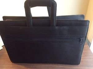 Leather briefcase/notebook