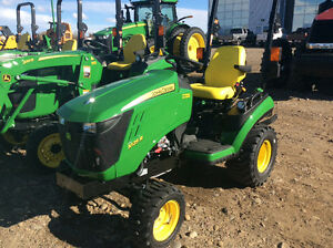 JOHN DEERE 1025R PREMIUM TRACTOR LEASE FOR ONLY $138.00 A MONTH
