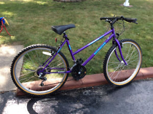 Lady's 18 speed mountain bike