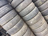 215/65/16c TYRE SHOP free fitting 215/65/16 commercial van used Tyres Partworn tires