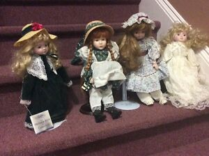 Collectible Dolls-Heritage Mint Collection.