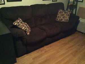 Double Reclining Couch