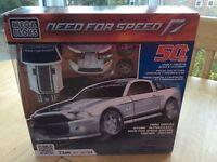 Mega Bloks Need For Speed Ford Shelby GT500 BNIB