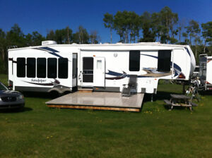 RV & Lot with Deck overlooking Golf Course
