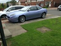 FIAT COUPE 20V, 98k miles, mot june 2017