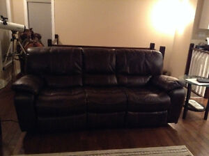 Couch - Two Motorized Recliners