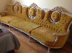 Sofa et chaise
