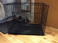 LARGE DOG PUPPY CAGE EXCELLENT CONDITION