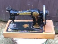 Lovely jones vintage sewing machine