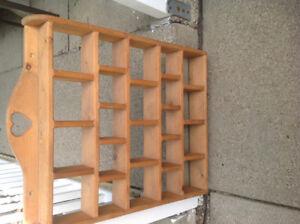 Decorator shelf.   NEW PRICE