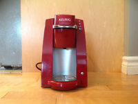 Red keurig single cup $25