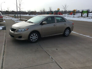 2010 Toyota Corolla Sedan, Mint Interior, Senior owned from new.