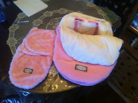 seat cover and swaddle