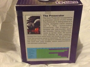 Transformers Quintesson Prosecutor by Impossible Toys Kitchener / Waterloo Kitchener Area image 3