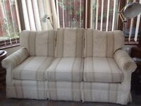 Cream sofa FREE BUYER COLLECTS