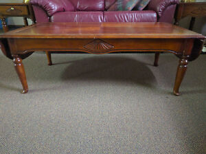 Coffee Table and Matching Side Tables.
