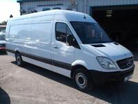 2013 13 MERCEDES SPRINTER XLWB HIGH ROOF RARE 4.7 METER LOAD AREA NOT VW CRAFTER