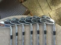 Titleist ap2 4-9 plus Cleveland pitching wedge. Golf clubs
