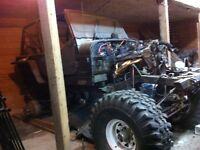 Yj jeep monster projet