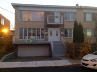 Duplex, garage double, Ville St-Laurent
