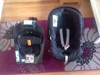 Cybex ISOFIX Aton car seat and base