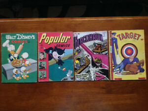 (updated price) COMIC BOOKS. 15 old  Golden-Age comics 1946-1977