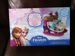 (NEW) Disney Frozen Adjustable Skates Size Y12-2