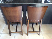 Stools for an island or peninsula