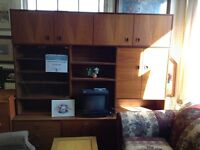 Teak Wall Unit Guelph Ontario Preview