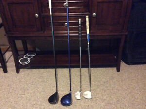Golf clubs 25- 40 $ each club