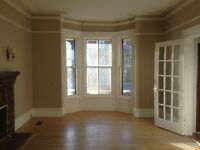 Large apartment in older house in central location