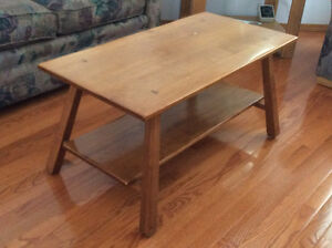 Coffee Table Solid Maple