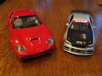 Scale Die Cast Cars